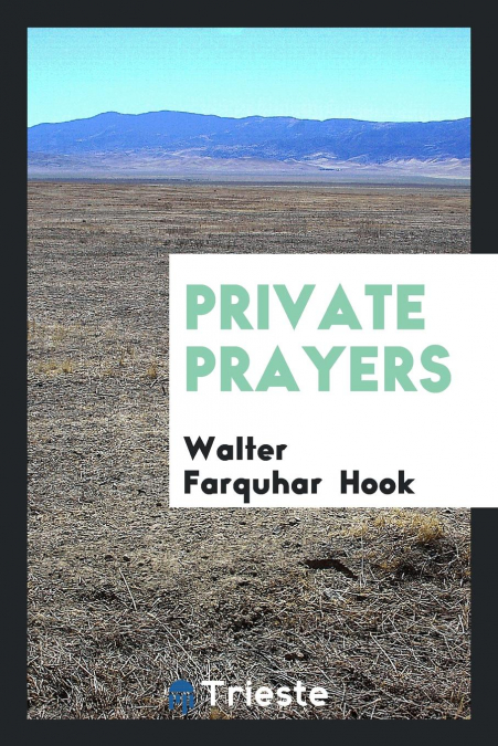 Private Prayers