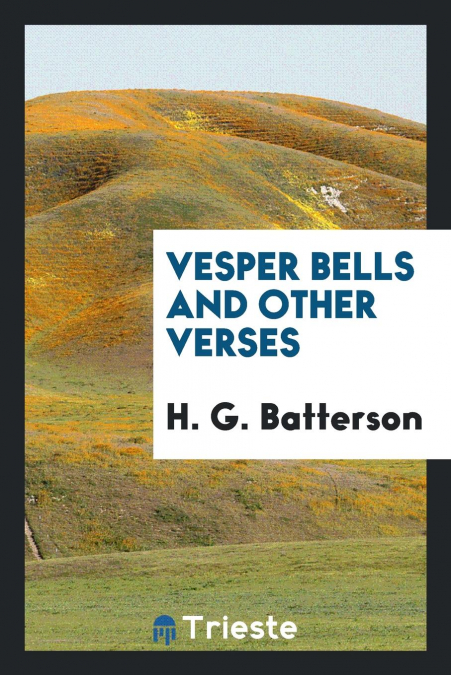 Vesper Bells And Other Verses