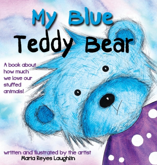 My Blue Teddy Bear