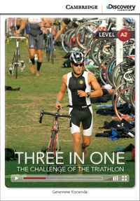 Cdir High-beg Three In One: Challenge Of Triathlon Bk/online