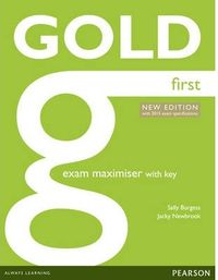 (14).gold First Exam Maximiser.(online Audio+key)