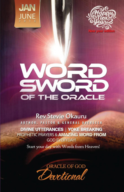 Oracle Of Devotional Jan To June 2016 Prophetic Sword