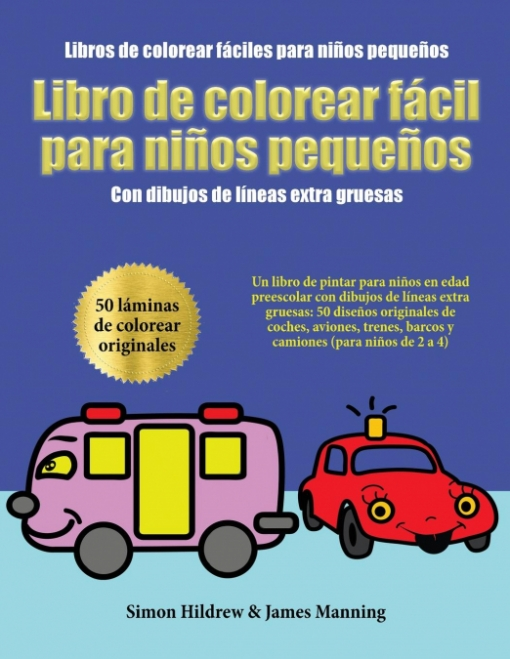 Libros De Colorear Fáciles Para Niños Pequeños Las Mejores Ofertas