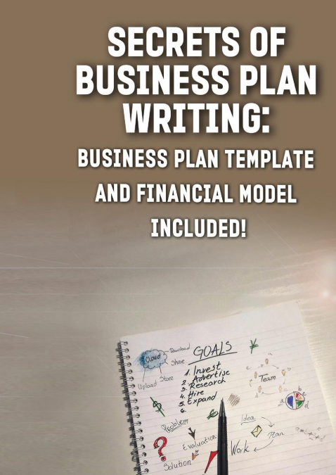 Secrets Of Business Plan Writing