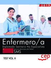 Enfermero/a. Diplomado Sanitario No Especialista. Servicio Murciano De Salud. Sms. Test Vol.ii
