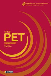 (09).target Pet (student's Pack+cdr) /target Exams