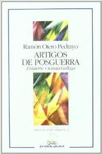 Artigos De Posguerra. 'finisterre' E 'sonata Gallega'
