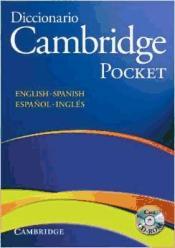 Diccionario Cambridge Pocket English-spanish/ Español-inglés