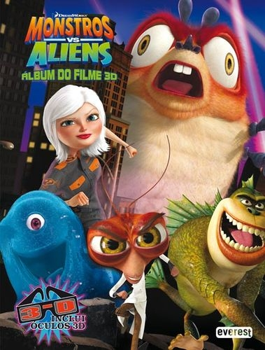 Monstros Vs Aliens: Álbum Do Filme 3d