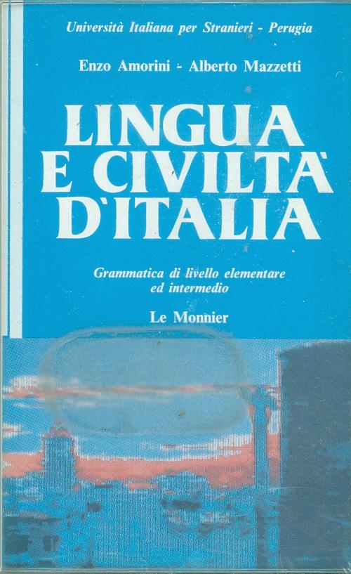 Lingua E Civiltà D'italia (cass)