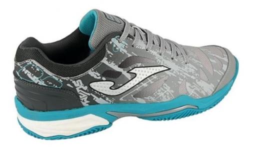 código promocional la venta de zapatos vendible Zapatilla Pádel Joma T.slam Men 912. Grey-black Clay. Talla 42