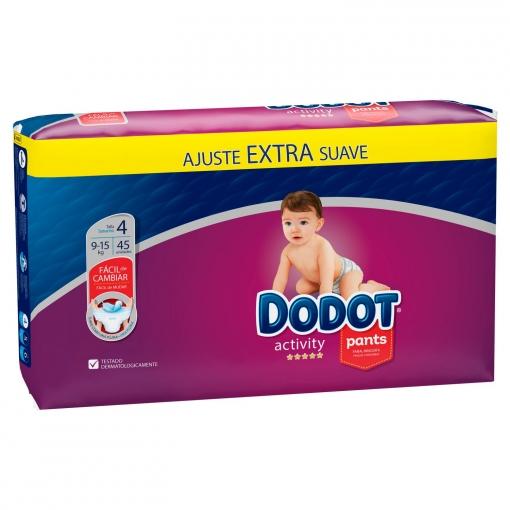 Pants Dodot Activity Talla 4 (9-15 Kg) 45 ud.
