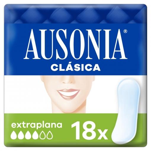 Compresas extraplana Ausonia 18 ud.