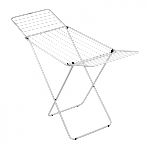 Tendedero con Alas de Metal 55 x 127 x 105 cm - Azul