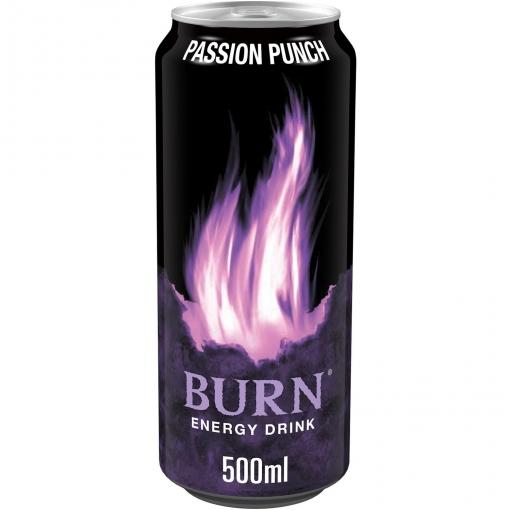 Bebida energética Burn Passion Punch 50 cl.
