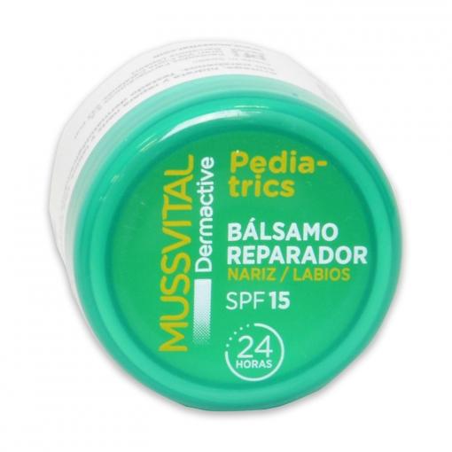 Bálsamo reparador pedriatic nariz y labios Mussvital 10 ml.