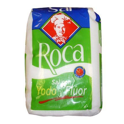 Sal yodada con flúor Roca 1 kg.