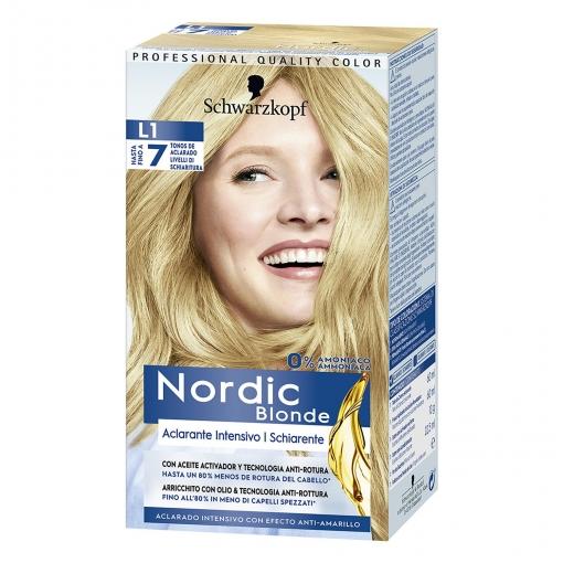 Aclarante intensivo rubio L1 ultra Nordic Colors 1 ud.
