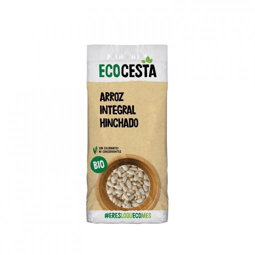 Arroz integral hinchado ecológico Ecocesta 125 g.