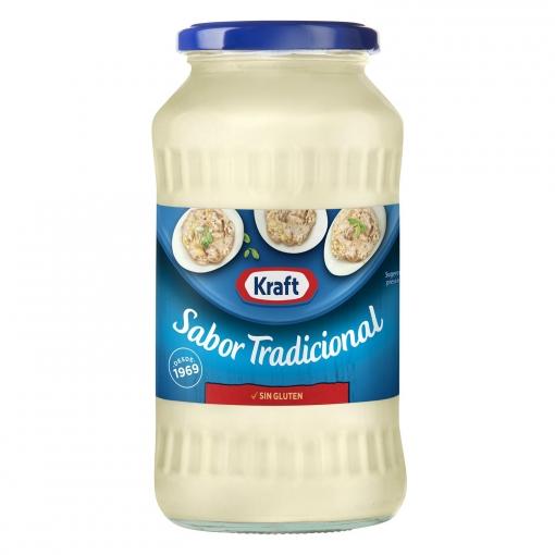 Mayonesa Kraft sin gluten tarro 660 ml.