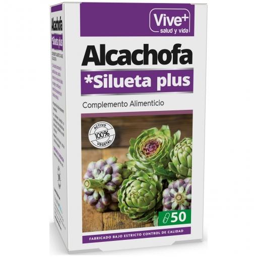 Complemento alimenticio Alcachofa en cápsulas Vive Plus 50 ud.