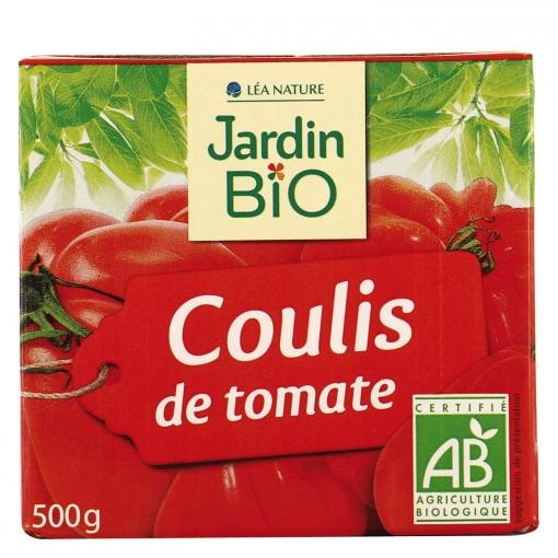 Salsa de tomate ecológico Jardin Bio brik 500 g.