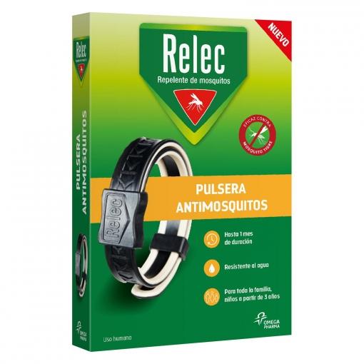 Pulsera antimosquitos Relec 1 ud.