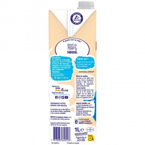 Brik Nestlé Junior 2+ con Galleta María a partir de 1 Año 1L