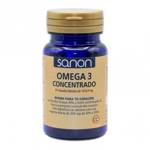 Omega 3 cápsulas Sanon 30 ud.