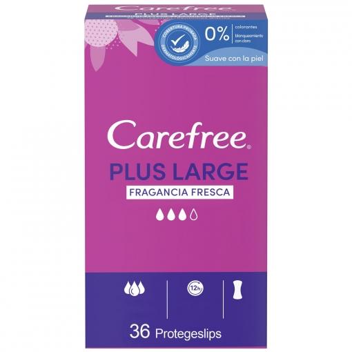Protegeslip maxi Carefree 36 ud.