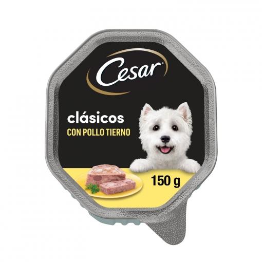 Paté de pollo para perro Cesar 150 g.