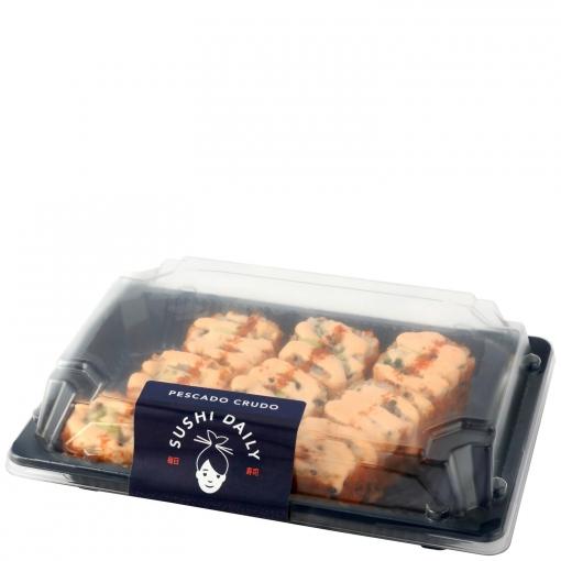 Spicy roll de salmón Sushi Daily 9 ud