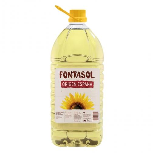 Aceite de girasol Fontasol 5 l.