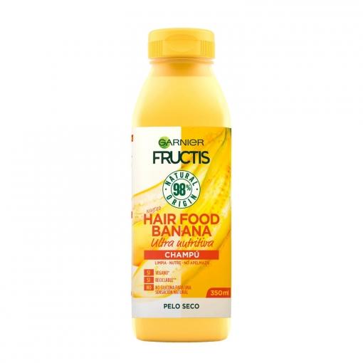 Champú ultra nutritiva banana Garnier 350 ml.