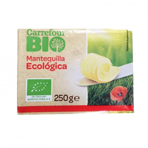 Mantequilla ecológica Carrefour Bio 250 g.