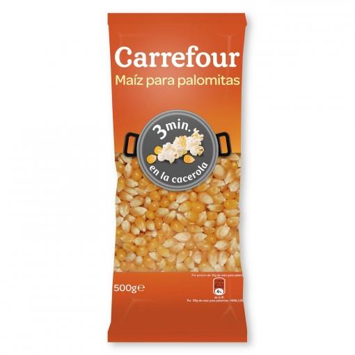 Maíz para palomitas Carrefour  500 g.