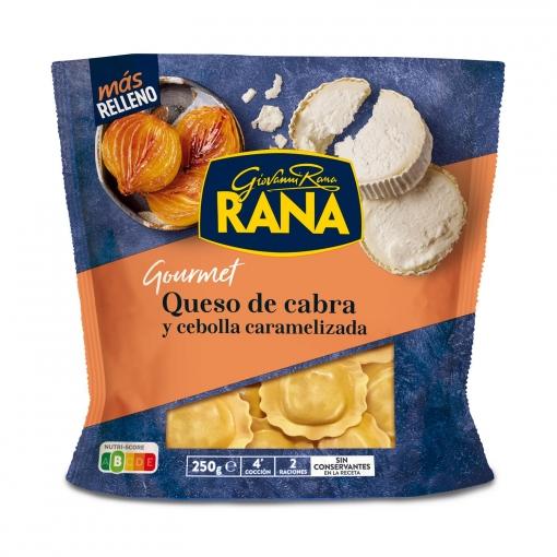 Ravioli de queso de cabra y cebolla caramelizada Rana 250 g.
