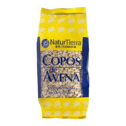 Copos de avena Naturtierra 500 g.