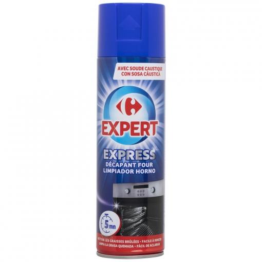 Limpiador de hornos con soda cáustica Carrefour 500 ml.