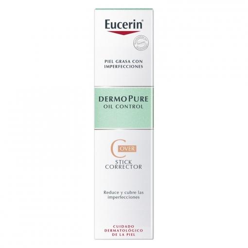 Stick corrector Cover DermoPure piel grasa con imperfecciones Eucerin 2,5 g,