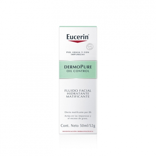 Fluido Facial Hidratante Matificante Dermopure Eucerin 50 Ml Carrefour Supermercado Compra Online