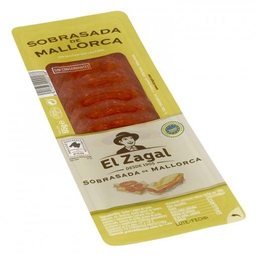 Sobrasada de Mallorca en lonchas El Zagal 65 g.
