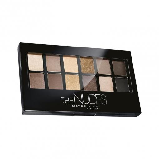 Paleta de sombra de ojos The Nudes Maybelline 1 ud.