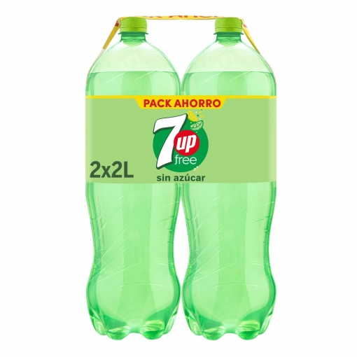 Refresco Botella Plastico Seven Up Pack 2 x 2L