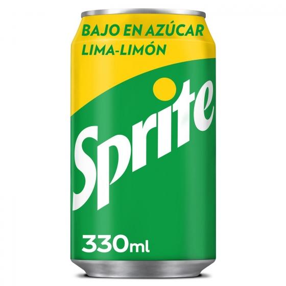 Refresco de lima-limón Sprite con gas lata 33 cl.