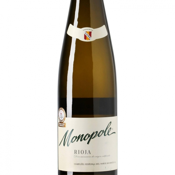 Vino D.O. Rioja blanco Monopole 75 cl. - 1