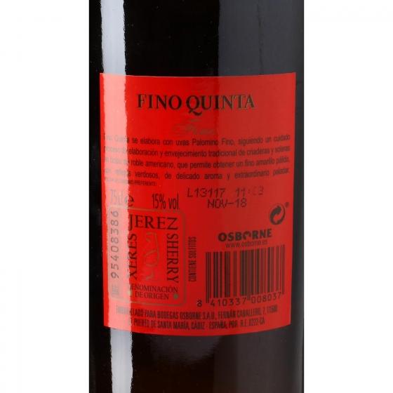 Vino D.O. Jerez Fino Quinta 75 cl. - 3