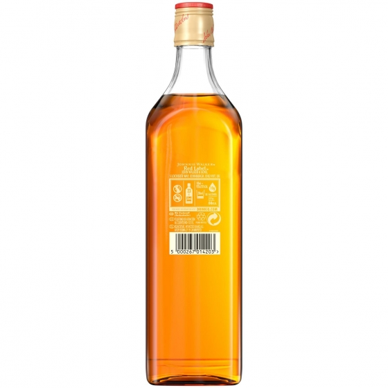Whisky Johnnie Walker Red Label escocés 70 cl. - 1