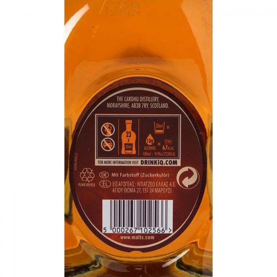 Whisky Cardhu escocés 12 años 70 cl. - 3