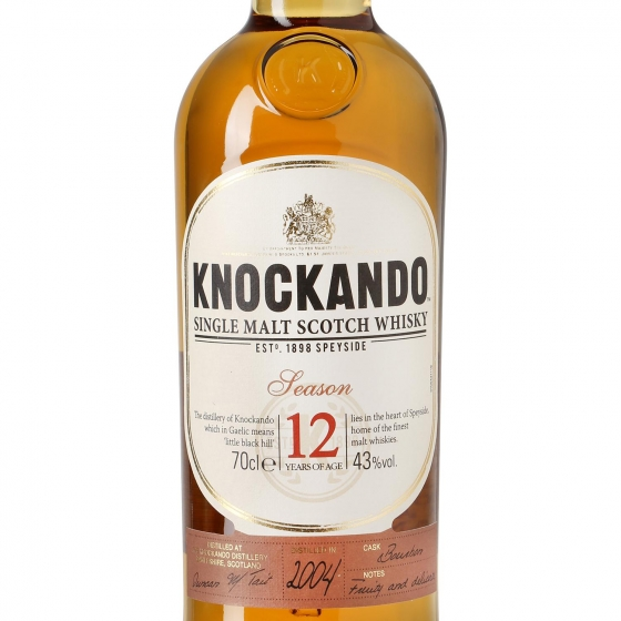 Whisky Knockando escocés 12 años 70 cl. - 1